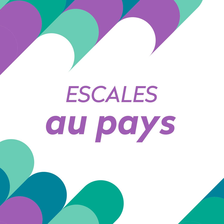 Logo Podcast Escales au pays [RTS]