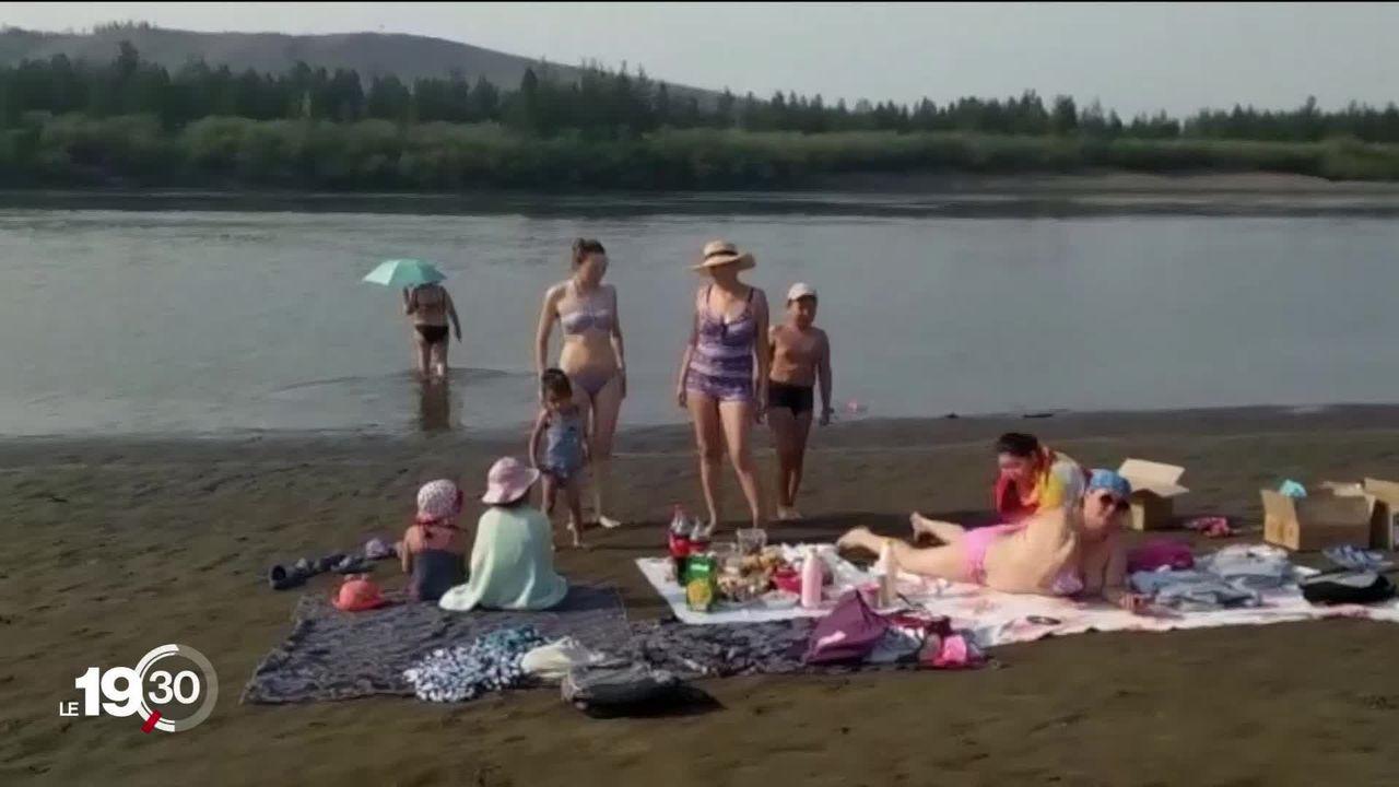La ville de Verkhoïansk a enregistré samedi dernier une température record de 38 degrés Celsius. [RTS]