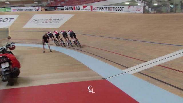 Cyclisme sur piste: la Suisse à la poursuite des Jeux [RTS]