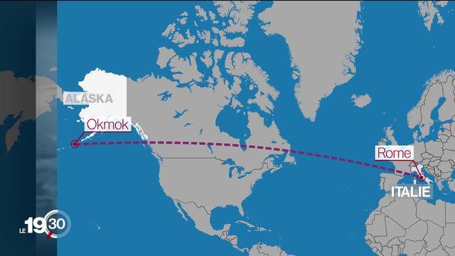 L'irruption voilà 2000 ans d'un volcan en Alaska a-t-il joué un rôle dans la chute de la République romaine? [RTS]