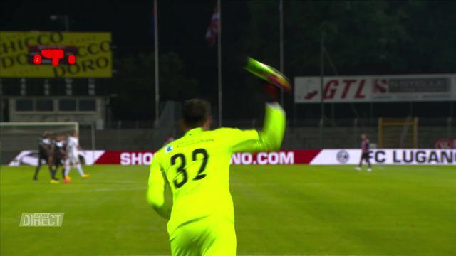 25e journée, Lugano – Lucerne (2-0): Lugano se donne de l'air [RTS]