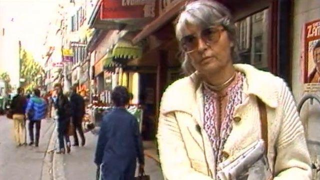 Anne-Catherine Menétrey, soutien de Lôzane bouge [RTS]