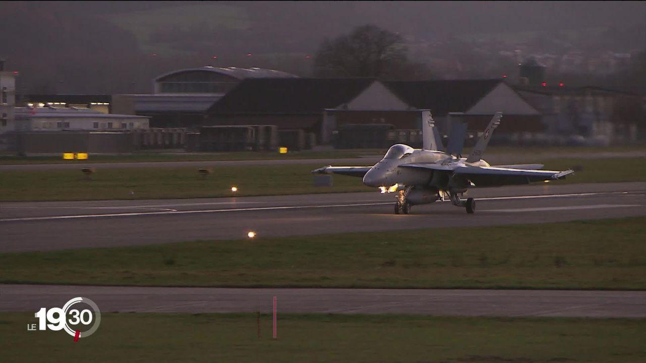 Nouveaux avions de combat: lancement de la campagne en vue de la votation du 27 septembre. [RTS]