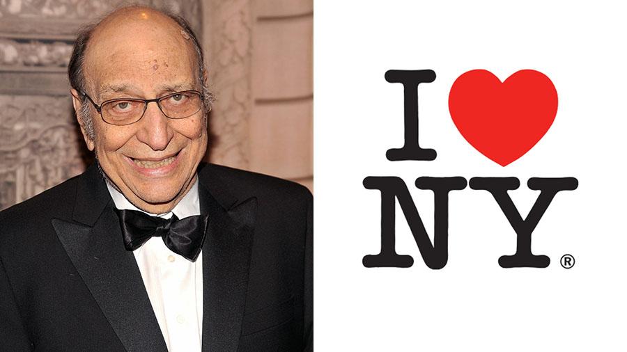 Milton Glaser, créateur du célèbre logo
