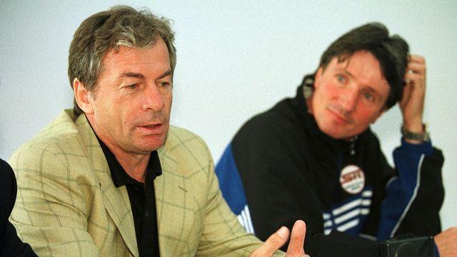 Quelques années après avoir dirigé le Servette FC, Ilija Petkovic, alors à la tête de l'Aris Salonique, l'avait affronté en Coupe d'Europe. [Laurent Gillieron - Keystone]