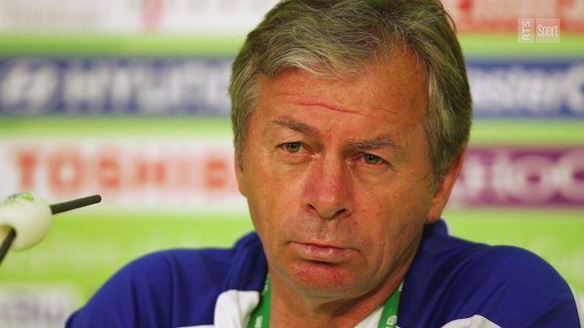 L'hommage de Michel Pont et de Gerard Castella suite au décès de l'ancien entraîneur de Servette, Ilija Petkovic. [RTS]
