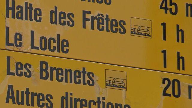 Les citoyens ont acceptés le projet de fusion du Locle et des Brenets le 28 juin 2020. [RTS]