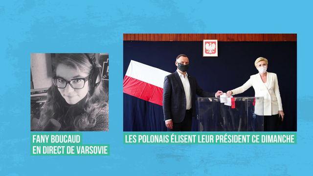 Les Polonais aux urnes pour une présidentielle aux enjeux démocratiques [RTS]