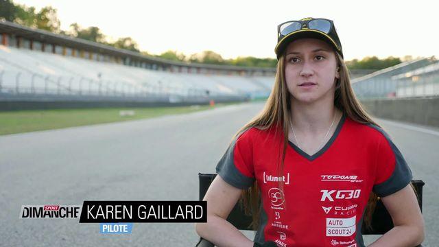 Reportage avec Karen Gaillard, jeune pilote espoir [RTS]
