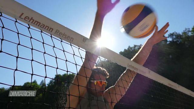 Beachvolley : la saison reprend en Suisse [RTS]