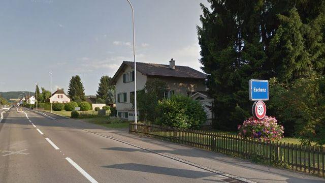 L'entrée du village d'Eschenz, dans le canton de Thurgovie. [Google Maps]