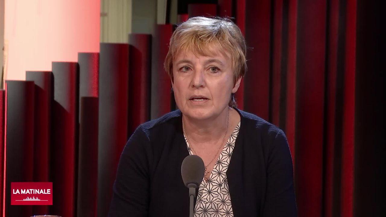 L'invitée de La Matinale (vidéo) - Brigitte Crottaz, docteure et conseillère nationale (PS-VD) [RTS]