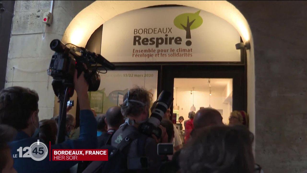 Vague verte aux municipales françaises [RTS]