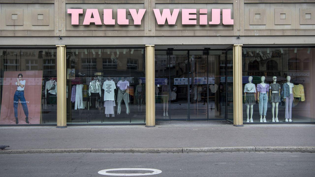 Tally Weijl va fermer 200 de ses 800 magasins au niveau international. [Georgios Kefalas - Keystone]