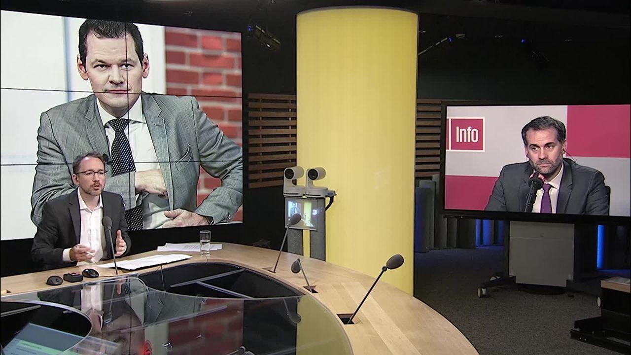 Pierre Maudet rompt la collégialité au Conseil d'Etat genevois: interview d'Antonio Hodgers [RTS]