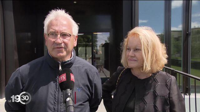 Le pâtissier Philippe Guignard devant les juges [RTS]