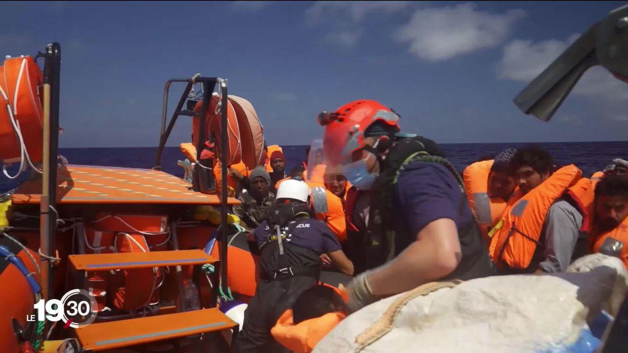 SOS Méditerrannée a repris ses sauvetages en Méditerrannée [RTS]