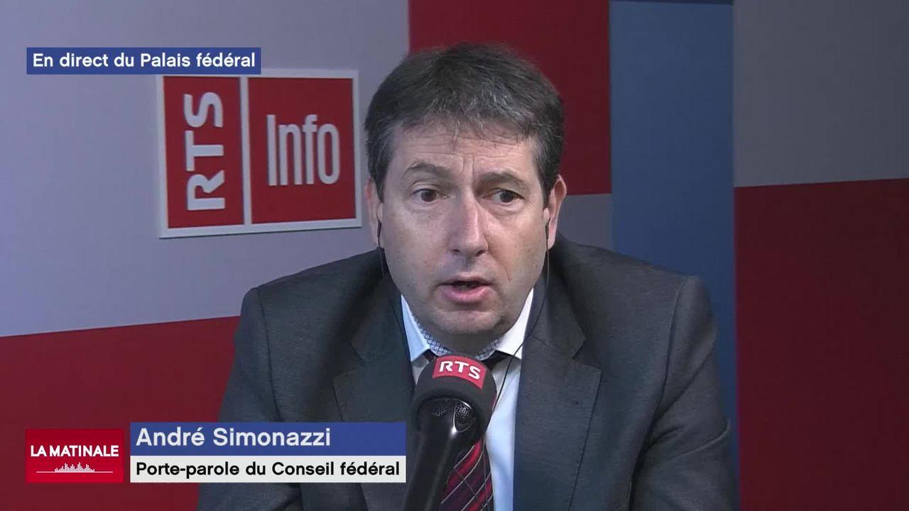 L'invité de la Matinale (vidéo) - André Simonazzi, vice-chancelier de la Confédération [RTS]