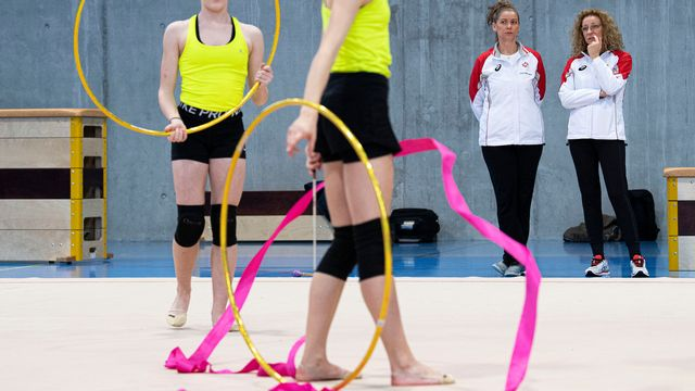 Iliana Dineva, entraîneur en chef, et d'Aneliya Stancheva, entraîneur national ont été licenciées la semaine dernière. [Urs Lindt - Freshfocus]
