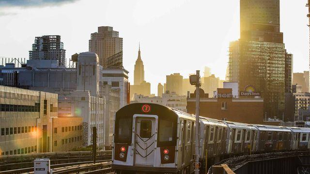 Le métro de New York. [Vanessa Carvalho / Brazil Photo Press - AFP]