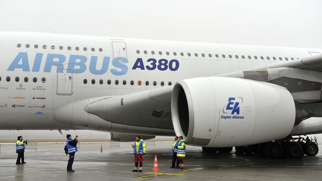 Airbus va supprimer environ 15'000 postes dans le monde. [Martial Trezzini - KEYSTONE]