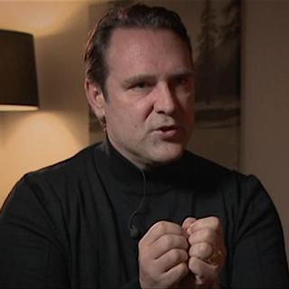 Chris Marcolli - coach de Dominique Gisin. [RTS]