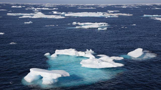 Dès 2050, la glace de la banquise arctique pourrait régulièrement disparaître totalement à la fin de l'été.  AchimHB Depositphotos [AchimHB - Depositphotos]