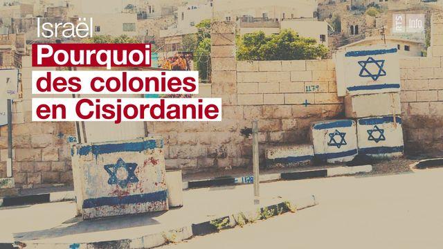 Quelque 450'000 personnes vivent aujourd'hui dans les colonies israéliennes en Cisjordanie. [DR - RTS]