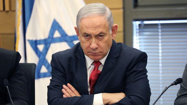 Benyamin Netanyahou. [Abir Sultan - EPA/Keystone]