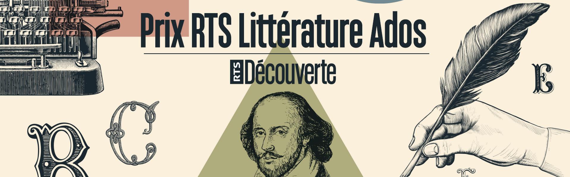 Le Prix RTS Littérature Ados. [Florian Tranchet - RTS Découverte]