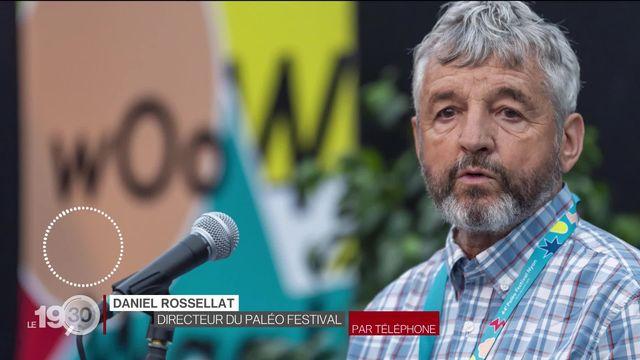 Le soutien financier accordé au festival Paléo interroge le monde politique. [RTS]