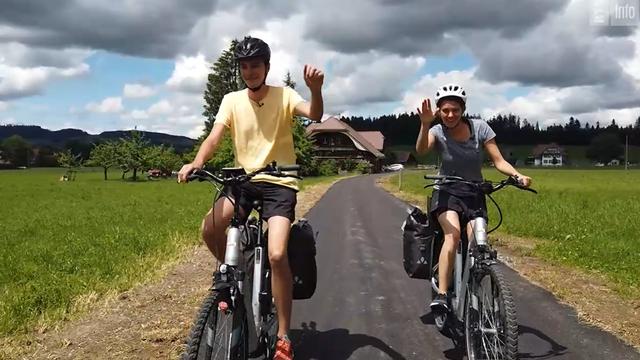 Route 99 - La Suisse alémanique à vélo (épisode 1) [RTS]