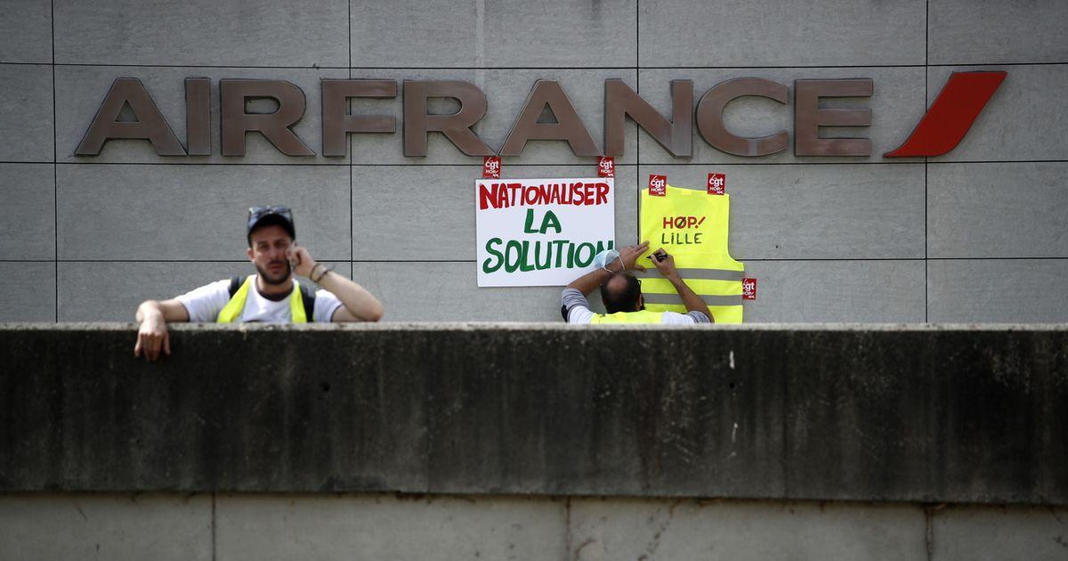 Économie : Le groupe Air France veut supprimer 7500 postes pour faire face à la crise |