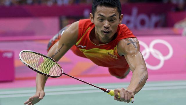 Lors des JO de Londres 2012, Lin Dan est parvenu à conserver son titre de champion olympique. [Andres Leighton - Keystone]