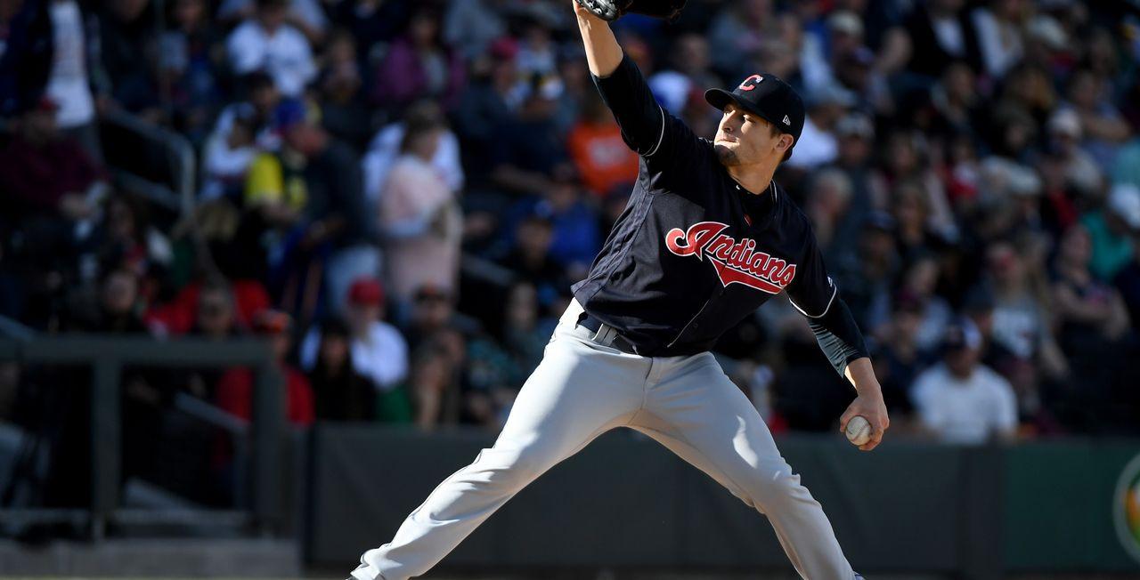 """L'équipe de Cleveland pourrait être amenée à retirer l'appellation """"Indians"""" sur son maillot. [Ethan Miller - AFP]"""