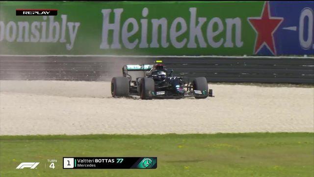 F1, GP d'Autriche I : Bottas décroche la pole position [RTS]