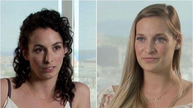Sarah Marchini et Marine Périchon ont accepté de revenir sur des faits survenus à Macolin. [RTS]