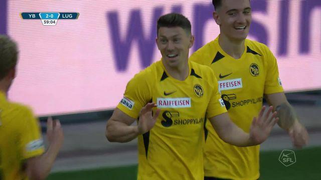 Super League, 28e journée : Young Boys - Lugano (3-0): les buts du matchs [RTS]