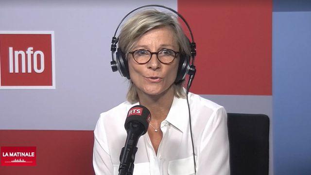 La conseillère nationale Simone de Montmollin (PLR/GE). [RTS]