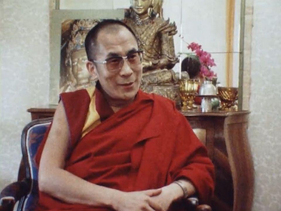Il reste optimiste sur la possibilité de retourner au Tibet. [RTS]