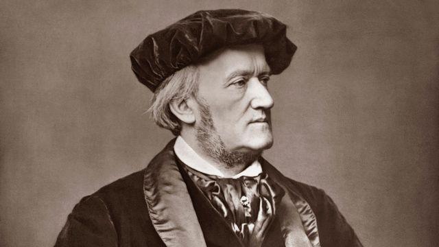 Portrait du compositeur allemand Richard Wagner (1813-1883). [Franz Hanfstaengl - AFP]