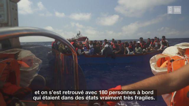Trois questions à Caroline Abu Sa'Da, directrice de SOS Méditerranée [RTS]