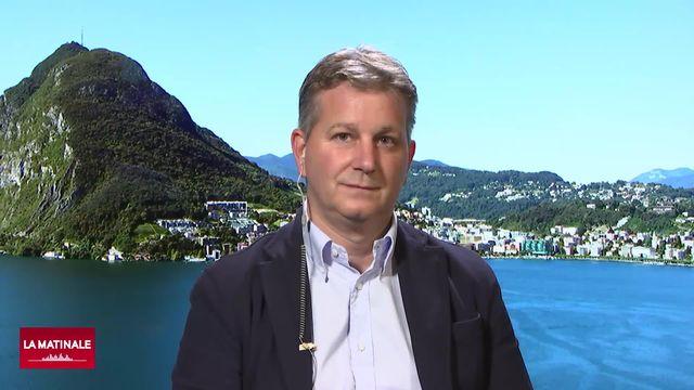 L'invité de La Matinale (vidéo) - Marco Chiesa, conseiller aux Etats (UDC-TI) [RTS]
