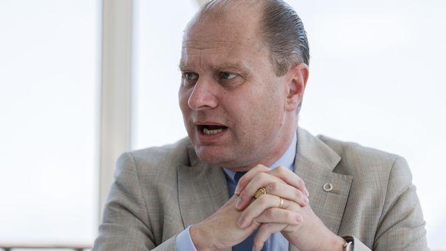 Le conseiller d'Etat vaudois Philippe Leuba. [Cyril Zingaro - Keystone]
