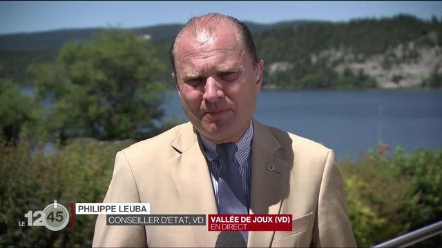 """Philippe Leuba: """"Ces chiffres sont de bonnes nouvelles, mais cela n'augure rien pour l'avenir"""" [RTS]"""