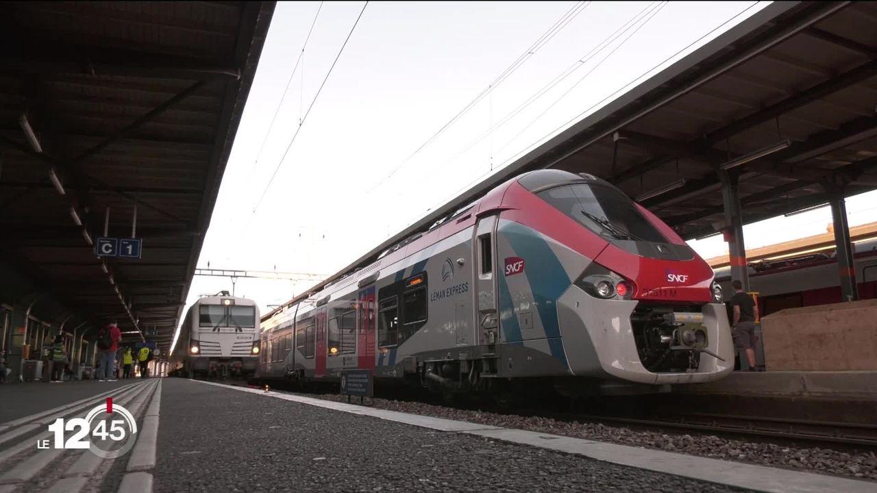 Léman Express: le réseau souffre d'une pénurie de personnel et doit supprimer des convois [RTS]