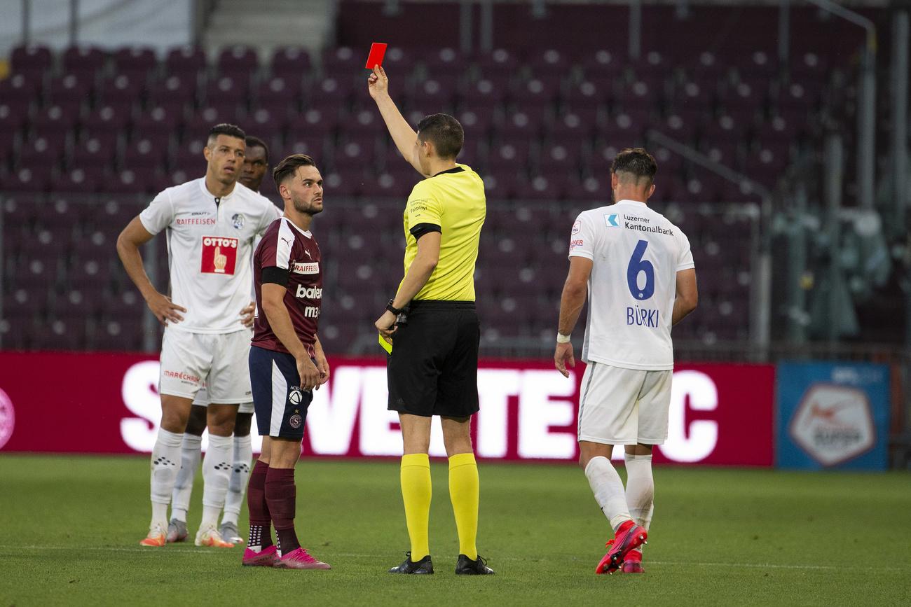 Super League: Alex Schalk prend deux matches, Alain Geiger un