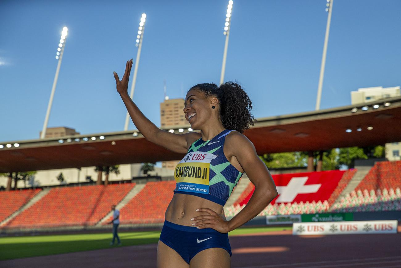 Athlétisme: Kambundji en douceur, Sprunger en progrès