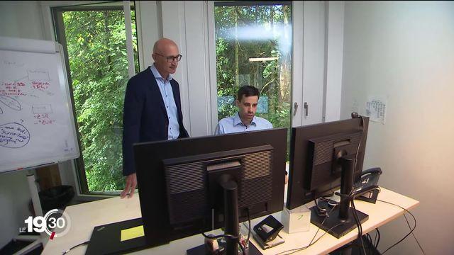 Une société informatique zurichoise aide les personnes souffrant d'autisme à intégrer le monde du travail. [RTS]