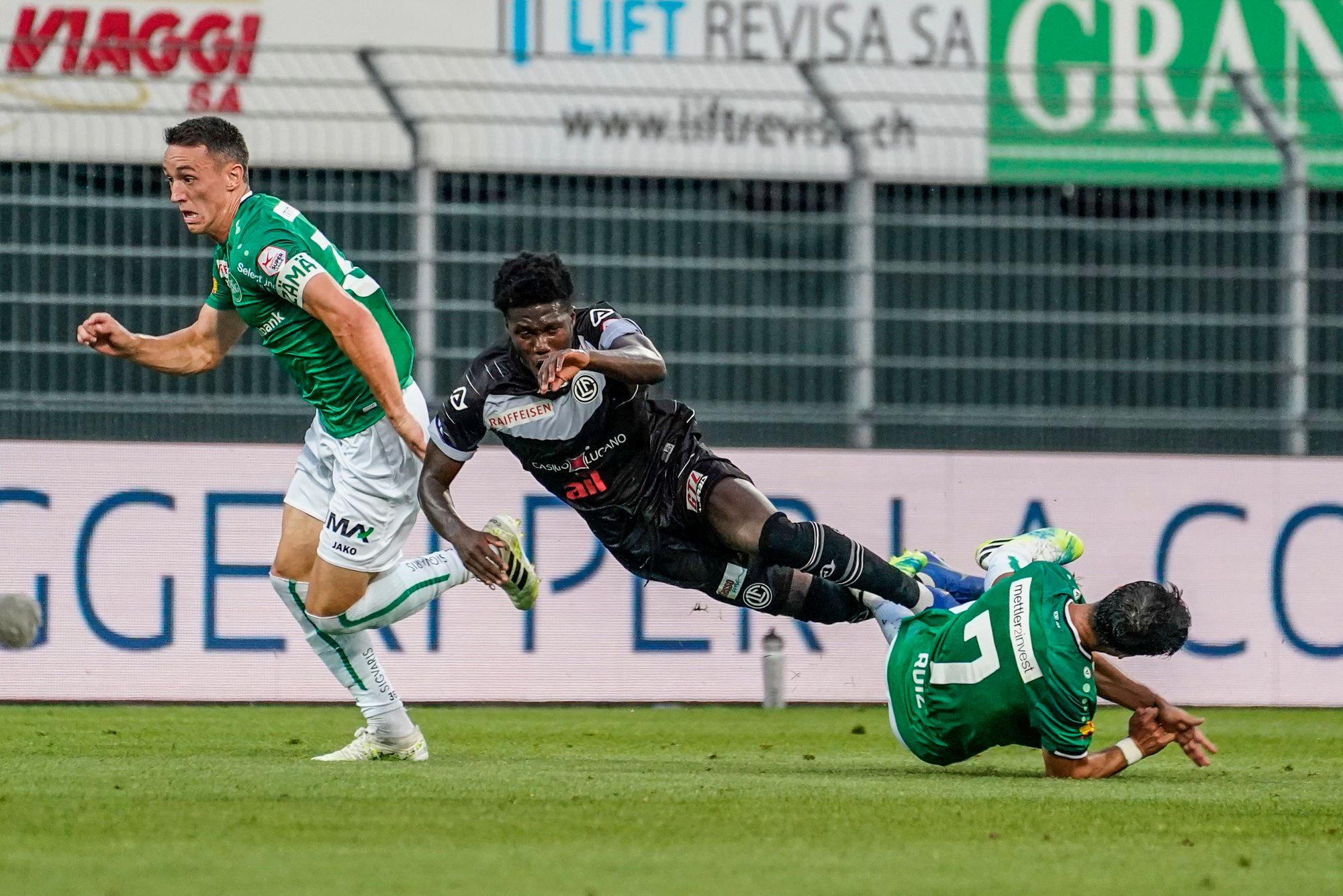 Super League: Saint-Gall perd des plumes à Lugano
